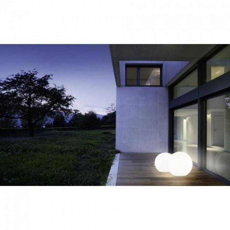 Eglo-98103 - Monterolo - Outdoor Ø 50 White Globe Post