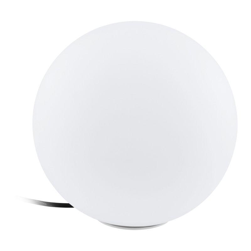 Eglo-98102 - Monterolo - Outdoor Ø 39 White Globe Post