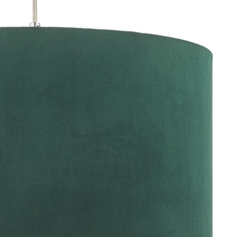 Dar-AKA6524 - Akavia - Velvet Green Fabric Shade for Hanging Pendant
