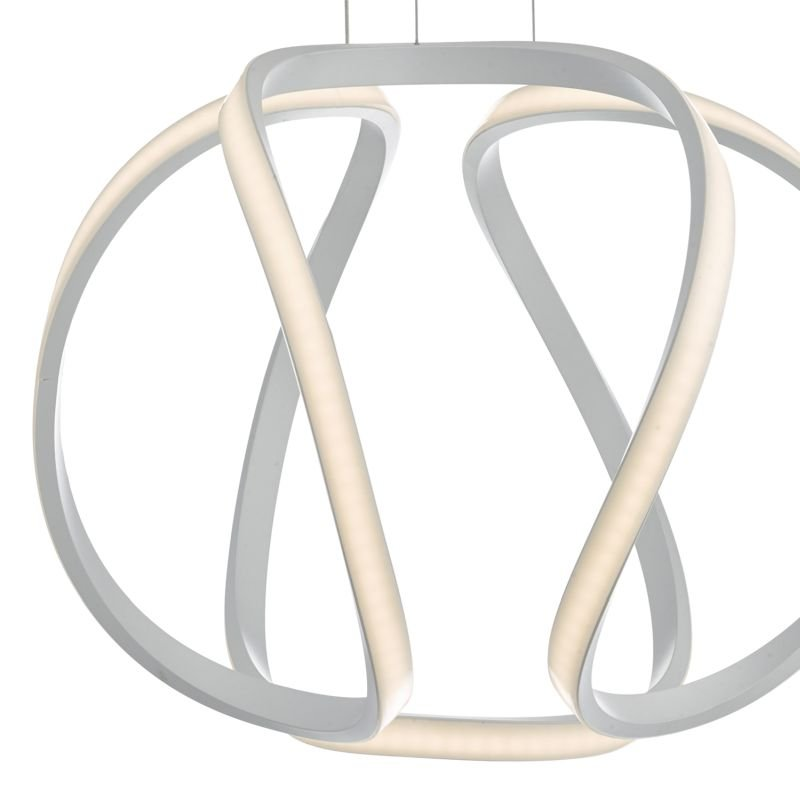 Dar-ALO012 - Alonsa - Small LED Sculptural Twisted Hanging Pendant