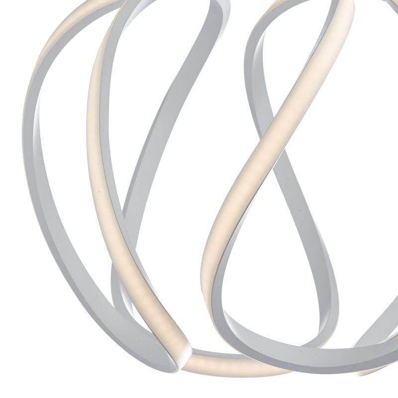 Dar-ALO862 - Alonsa - Big LED Sculptural Twisted Hanging Pendant