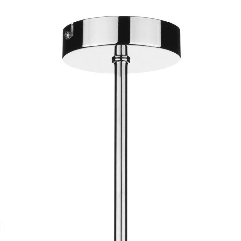 Dar-ARU0350 - Aruba - Opal Glass with Polished Chrome 3 Light Centre Fitting