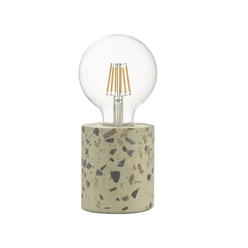 Wisebuys-ASI4055 - Asim - Polished Stone & Terrazzo Concrete Table Lamp