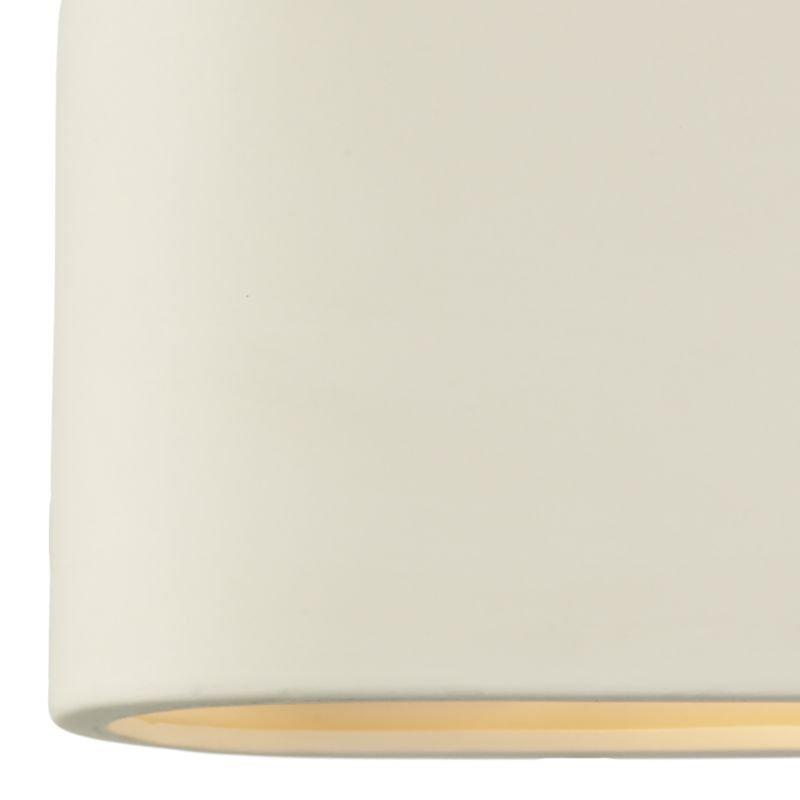 Dar-AXT372 - Axton - Washer White Ceramic Big Wall Lights