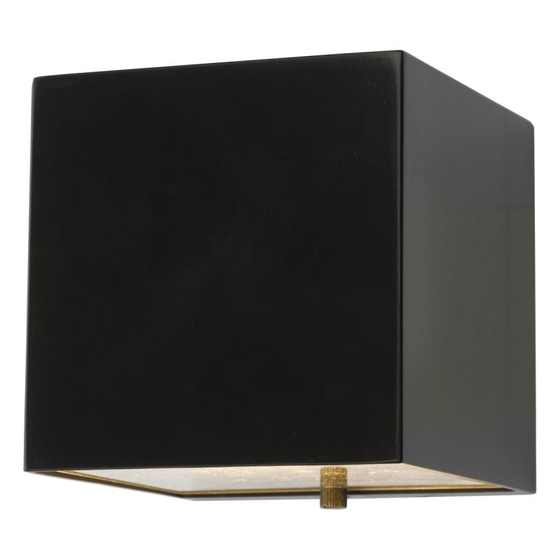 Dar-BAC1522 - Bacchus - Outdoor Black Square Wall Lamp