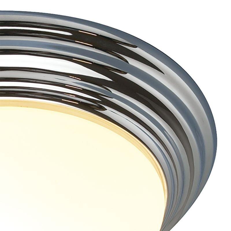 Dar-BAR5250 - Barclay - Small Bathroom Polished Chrome Ceiling Lamp