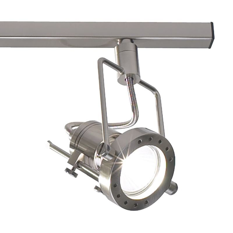 Dar-BAU8446 - Bauhaus - Satin Chrome Adjustable Swivel Head 4 Light Spotlights