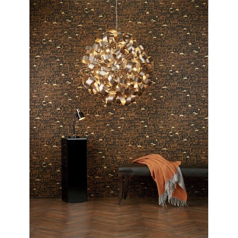 Dar-BON4254 - Bond - Matt Black & Copper Desk Lamp