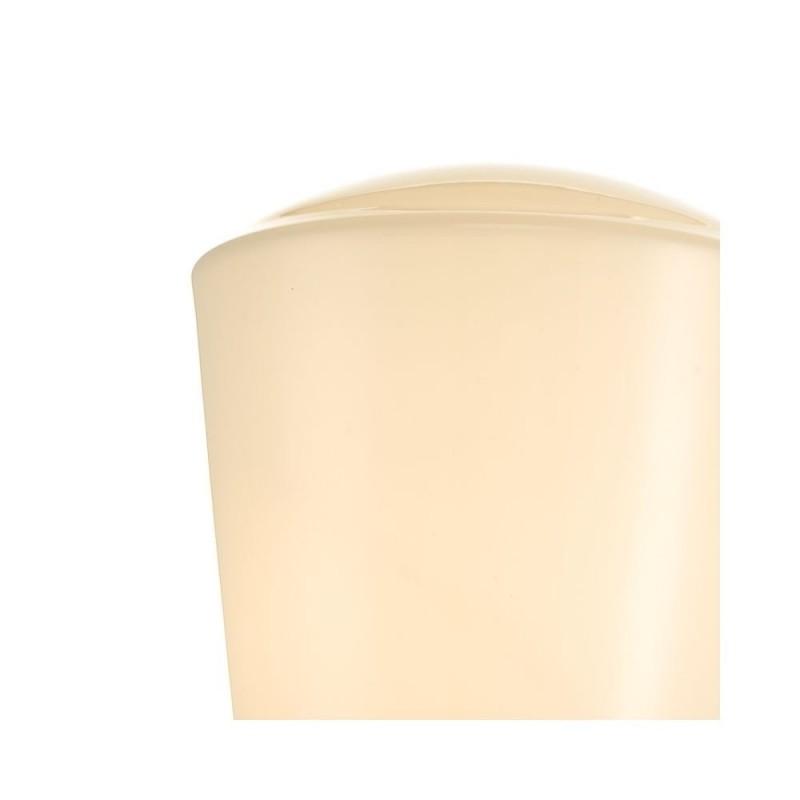 Dar-CAD0750 - Caden - Bathroom Polished Chrome and Opal Glass Wall Lamp