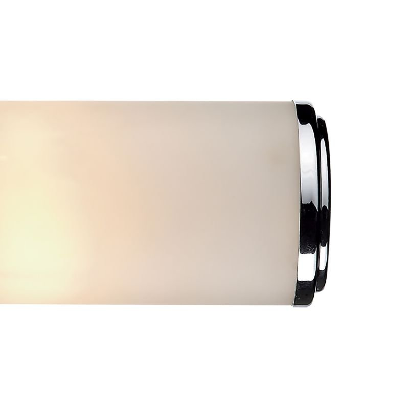Dar-CEN0950 - Century - Bathroom Frosted Glass and Chrome Double Wall Lamp