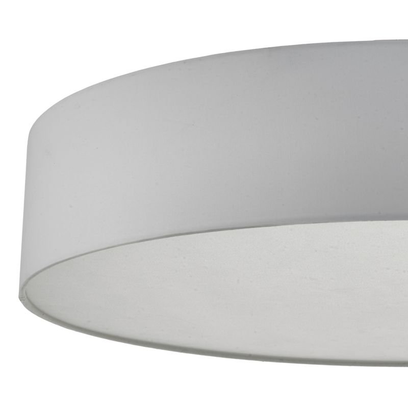 Dar-CIE4815 - Cierro - Ivory Shade with Diffuser 6 Light Ceiling Lamp