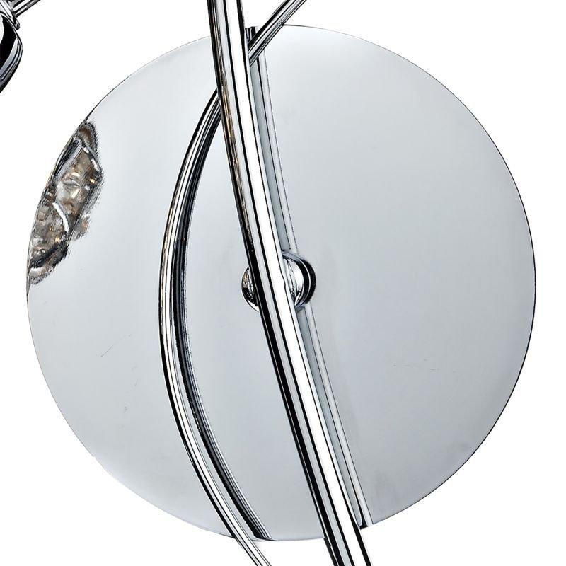 Dar-CIR0750 - Circa - Decorative Glass Disc with Chrome Wall Lamp