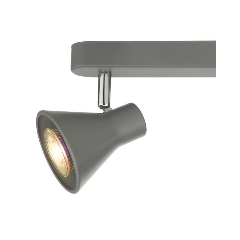 Wisebuys-DIZ7339 - Diza - Matt Grey 3 Bar Spotlights