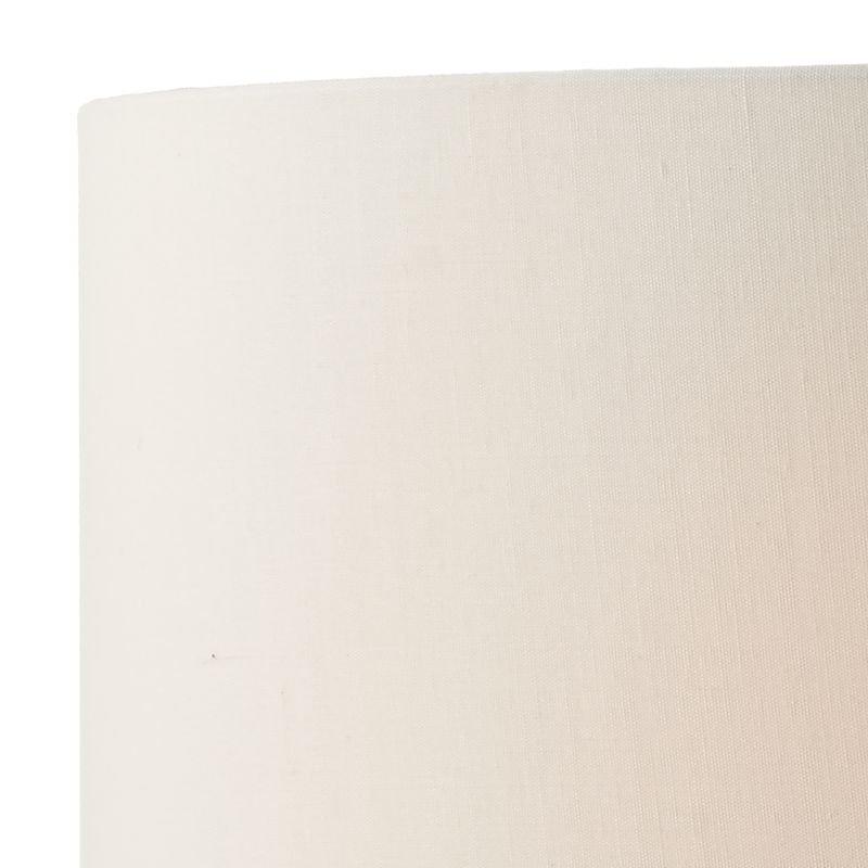 Dar-DON4250 - Donovan - Polished Chrome with Cream Shade Table Lamp
