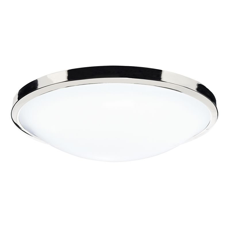 Wisebuys-DOV5250 - Dover - White Acrylic with Polished Chrome Ceiling Lamp