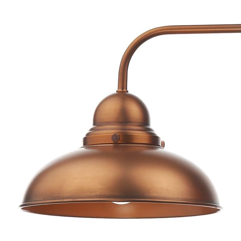 Dar-DYN0364 - Dynamo - Antique Copper 3 Light over Island Fitting