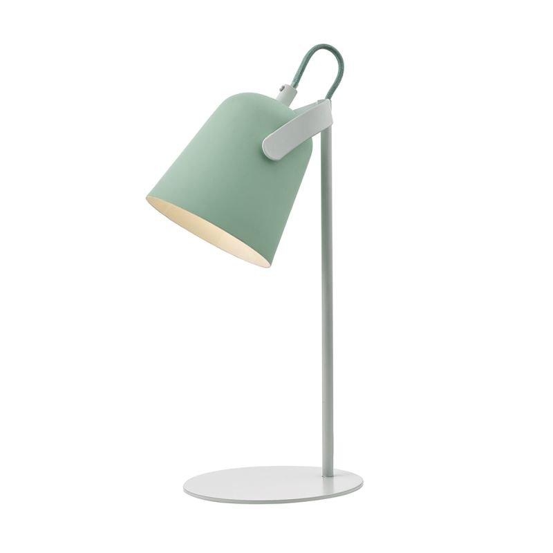 Wisebuys-EFF4124 - Effie - Matt Pale Green with Matt White Table Lamp