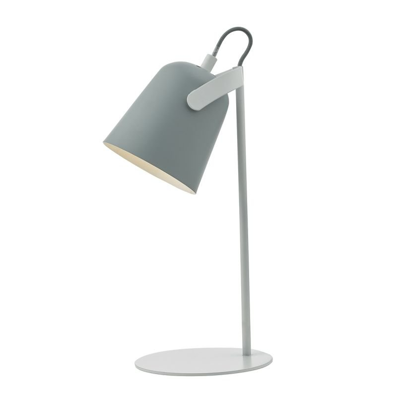 Wisebuys-EFF4139 - Effie - Soft Matt Grey with Matt White Table Lamp