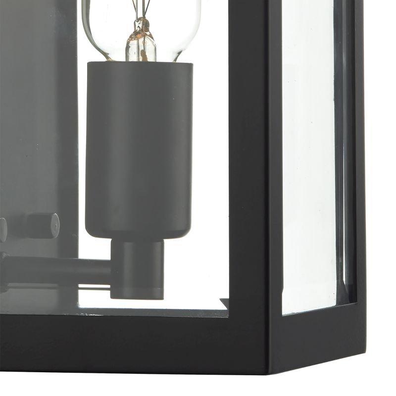 Dar-ERA0722 - Era - Outdoor Black Lantern Wall Lamp