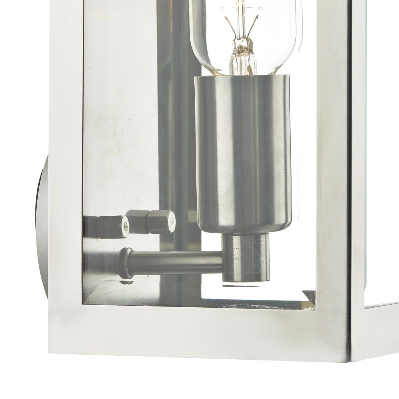 Dar-ERA0744 - Era - Outdoor Stainless Steel Lantern Wall Lamp