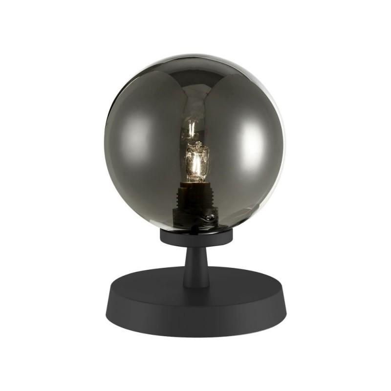 Dar-ESB4122-01 - Esben - Smoky Glass & Black Touch Table Lamp