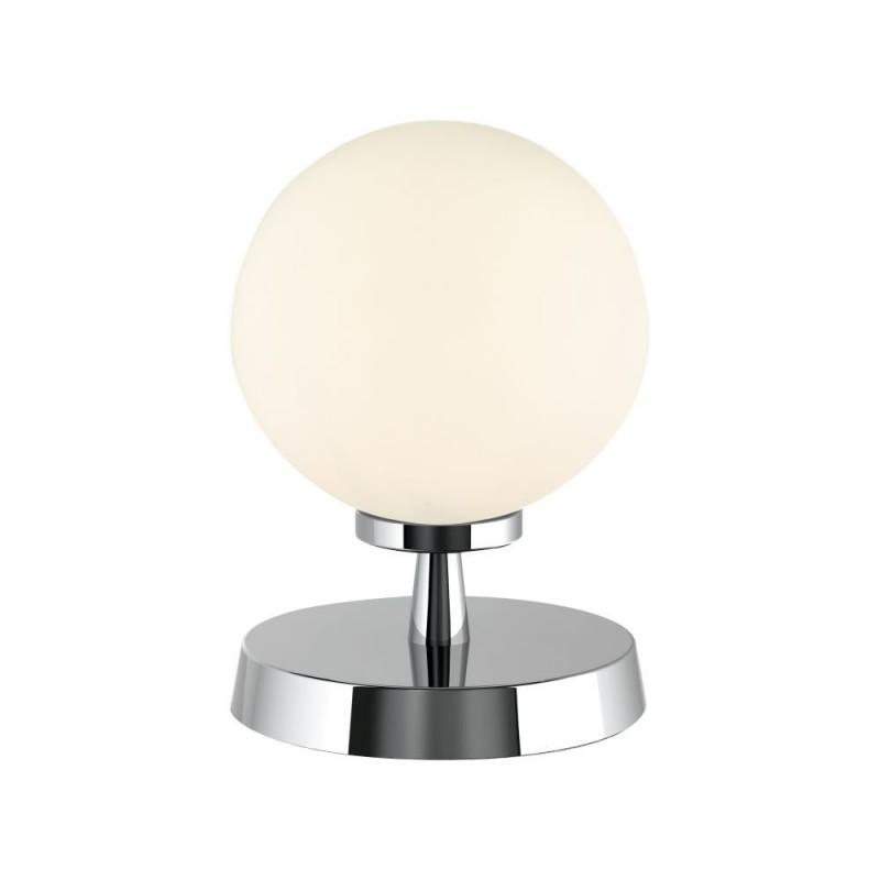 Dar-ESB4150-02 - Esben - White Glass & Chrome Touch Table Lamp