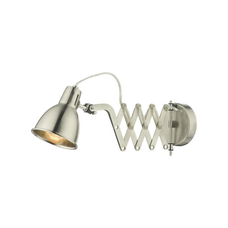 Wisebuys-FAX0746E - Faxon - Satin Chrome Extendable Wall Lamp