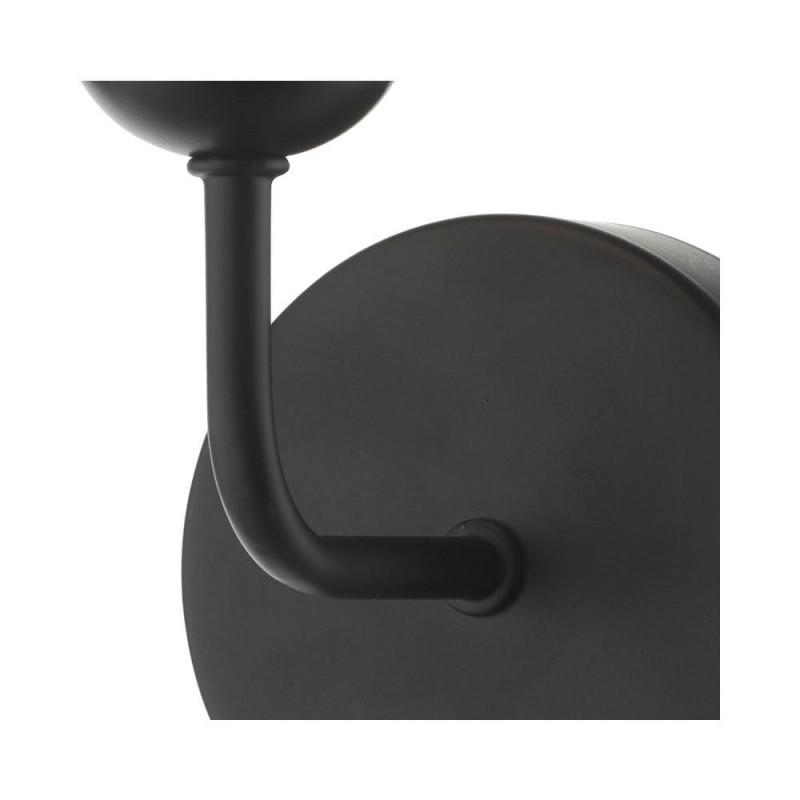 Dar-FEY0722-02 - Feya - White Glass & Black Wall Lamp
