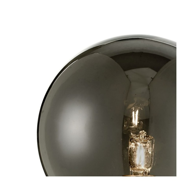 Dar-FEY0750-01 - Feya - Smoky Glass & Chrome Wall Lamp