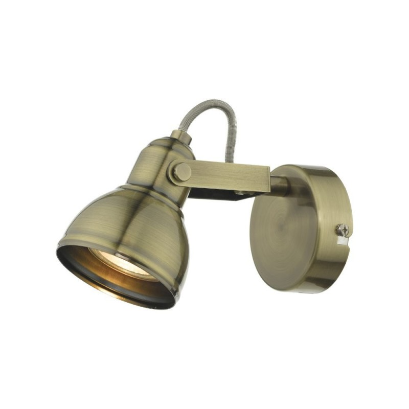 Wisebuys-FOT0775 - Fothergill - Antique Brass Single Spotlight