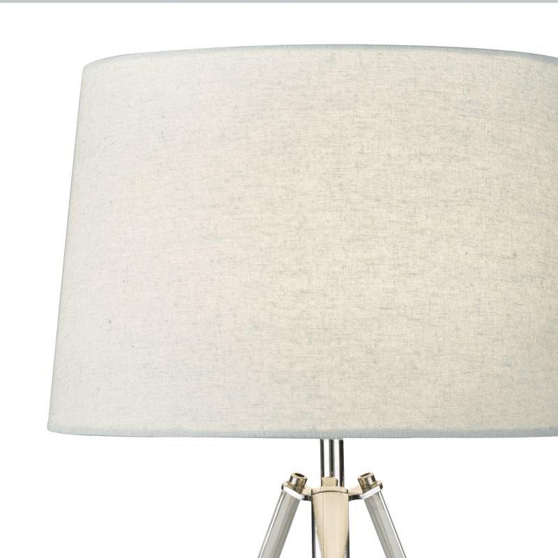 Dar-GRI4250 - Griffith - Polished Chrome Tripod Table Lamp