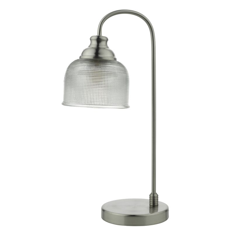 Wisebuys-HEC4238 - Hector - Decorarive Glass with Satin Nickel Table Lamp
