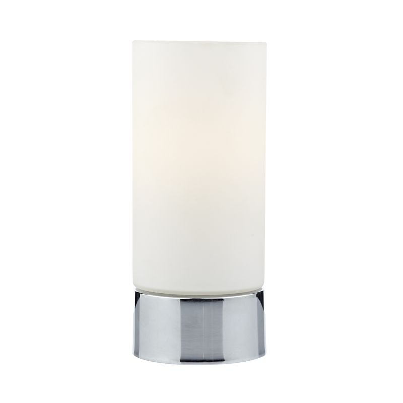 Wisebuys-JOT4050 - Jot - Opal Glass with Polished Chrome Touch Lamp