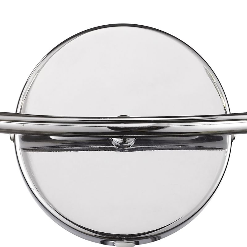 Dar-LUT0950 - Luther -  Decorative Polish Chrome with Crystal 2 Light Wall Lamp