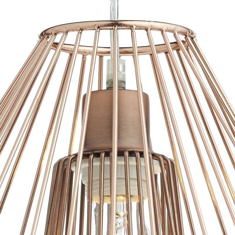 Dar-NEE6564 - Needle - Copper Metal Shade for Hanging Pendant