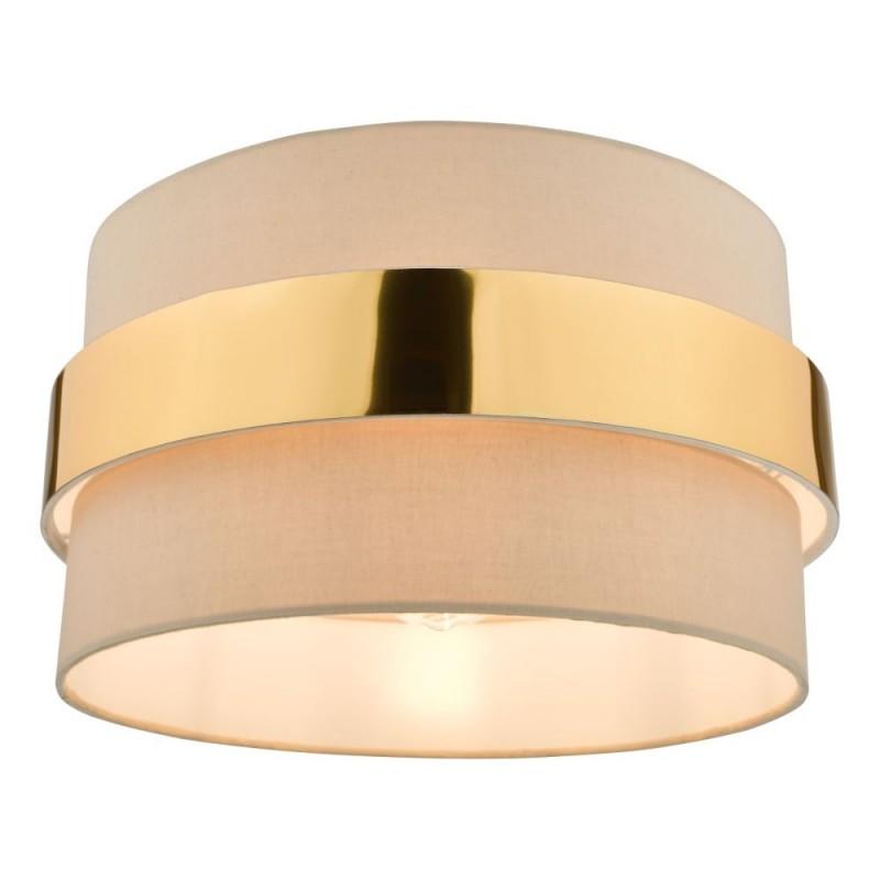 Dar-OKI6529 - Oki - Shade Only - Taupe & Gold Shade