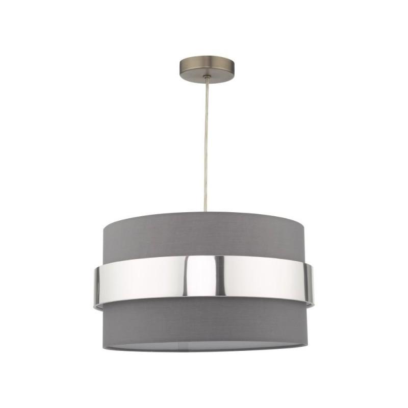 Wisebuys-OKI6539 - Oki - Grey & Chrome Shade for Pendant
