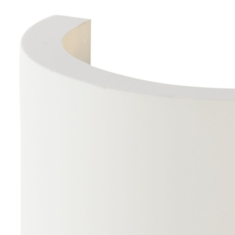 Dar-OLI0748 - Oliver - LED Washer White Ceramic Up&Down Wall Lights