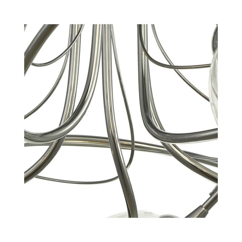 Wisebuys-ONA5450-03 - Onawa - Twisted Glass & Chrome 5 Light Semi Flush