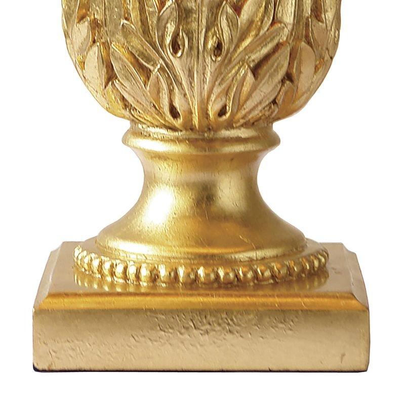 Dar-PIN4235 - Pineapple - Black and Gold Pineapple Table Lamp