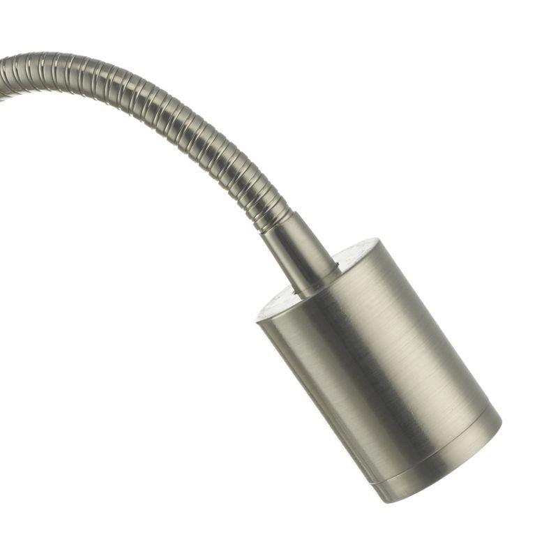 Dar-RAO0746 - Raoul - LED Satin Nickel with USB Reading Wall Lamp
