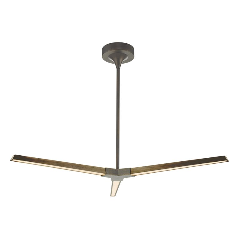 Dar-ROT0363 - Rotor - LED Bronze 3 Light Hanging Pendant