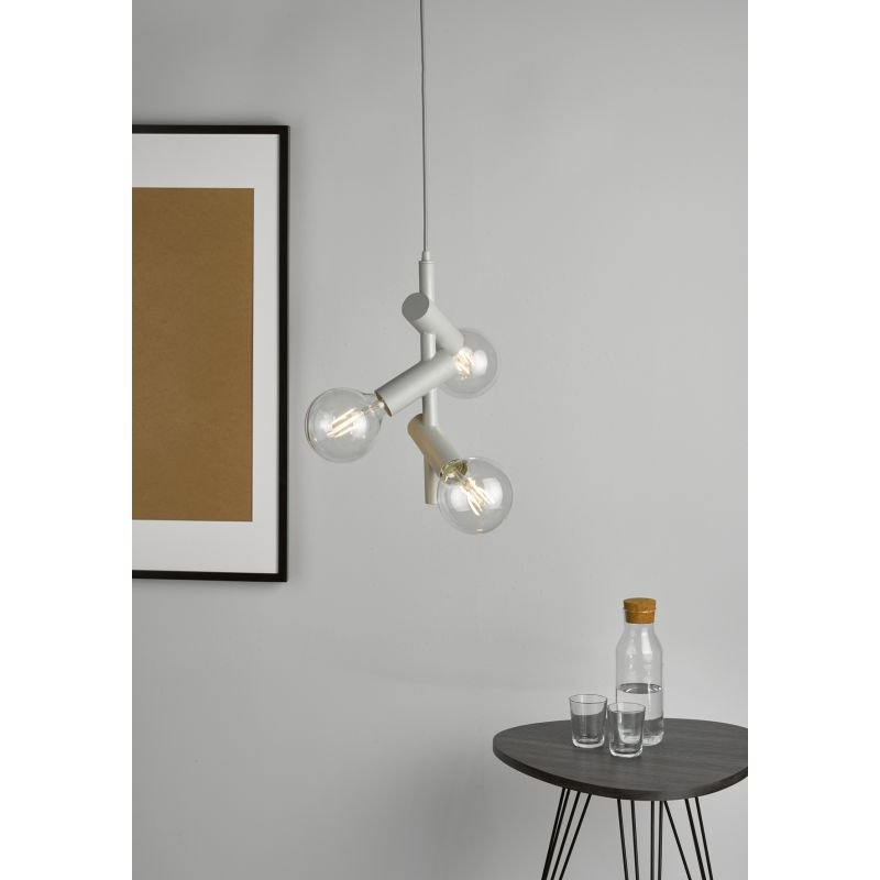 Dar-SIO0339 - Sion - Soft Grey 3 Light Centre Fitting