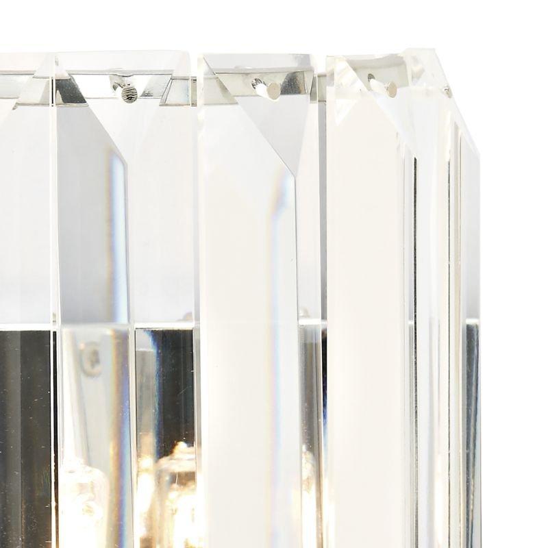 Dar-SKE0750 - Sketch - Crystal with Polished Chrome Wall Lamp