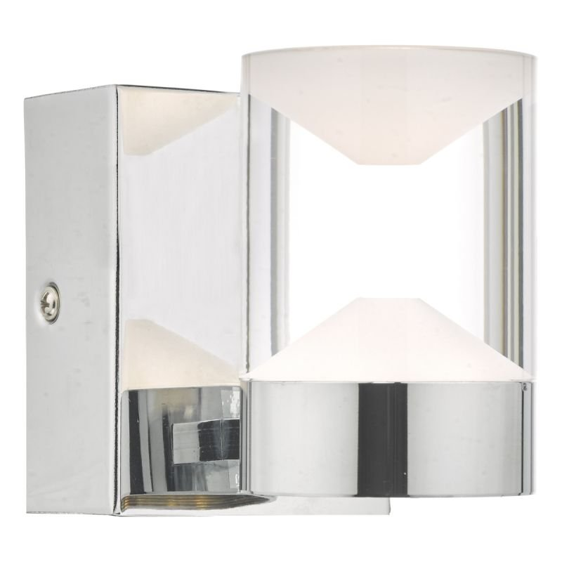 Dar-SUS0750 - Susa - Bathroom LED White & Polished Chrome Wall Lamp