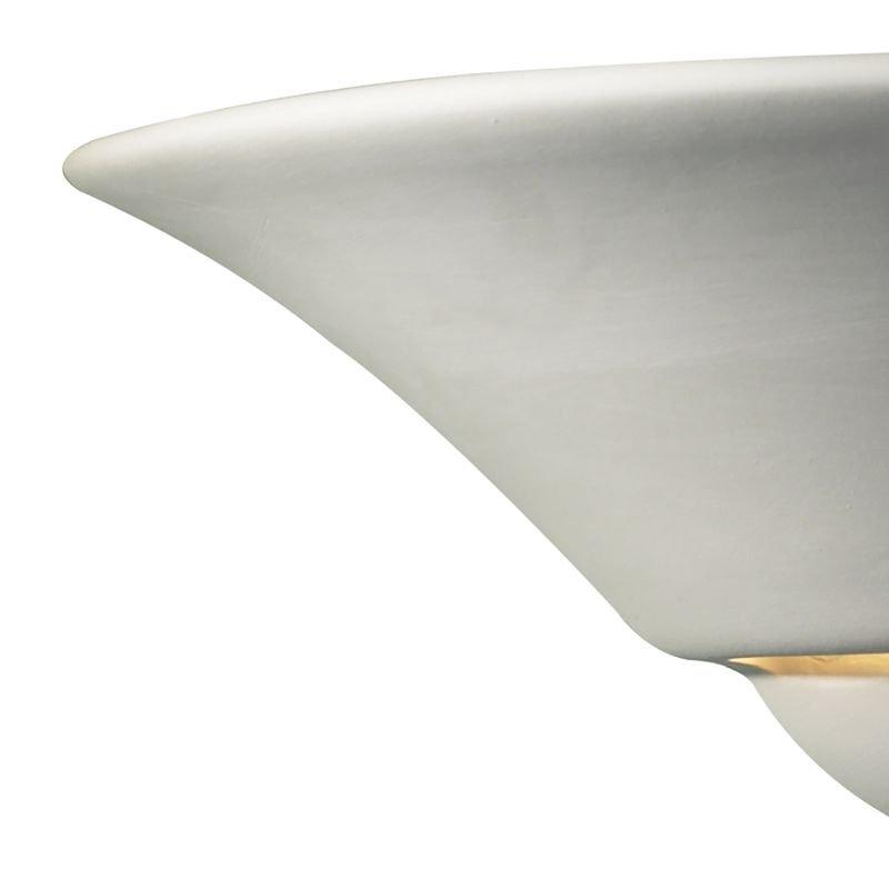 Dar-SWI0748 - Swift - Washer White Ceramic Up&Down Wall Lights
