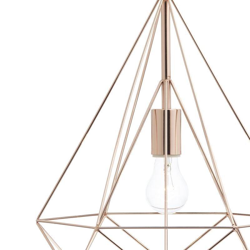 Dar-SWO0164 - Sword - Copper Metal Cage Single Hanging Pendant