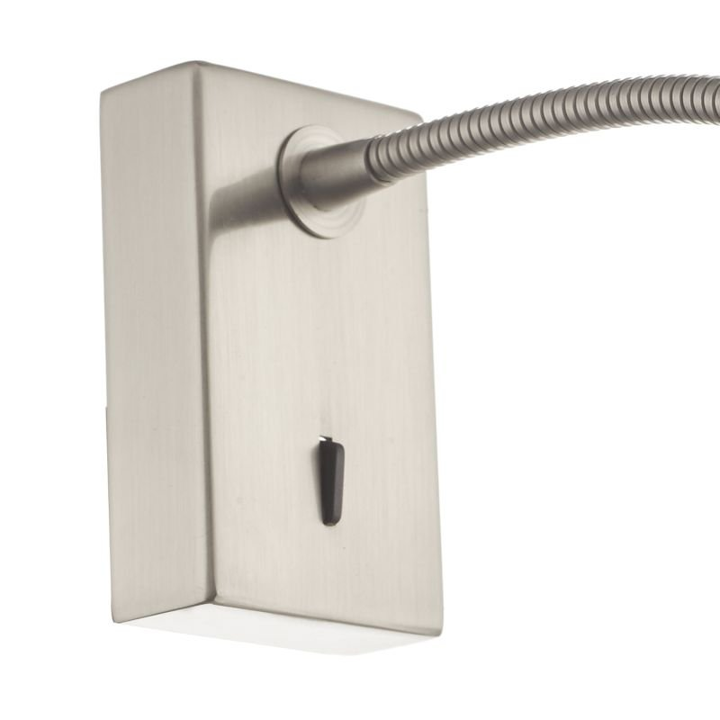 Dar-TAD0746 - Tadley - LED Satin Nickel Wall Lamp