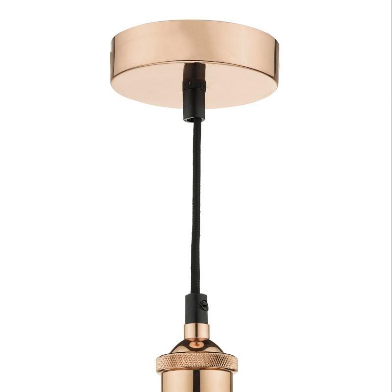 Dar-TAU0164 - Taurus - Bright Copper Single Hanging Pendant Cage