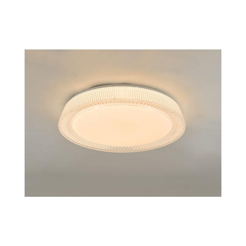 Dar-UDE482 - Udell - LED Crystal Acrylic Flush